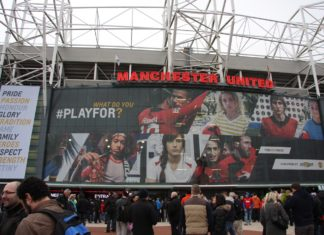 Utenfor Old Trafford